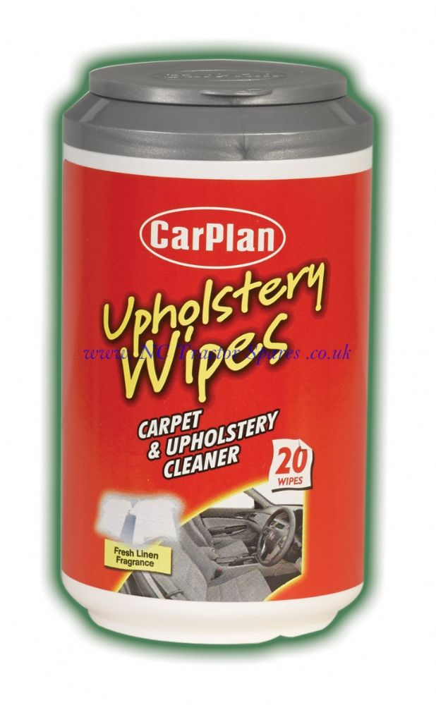 CarPlan Mini Tub Wipes Upholstery 20